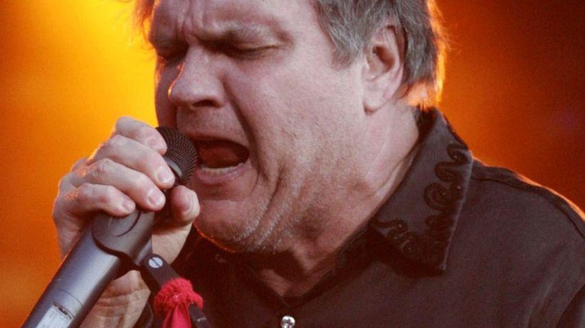 Bewusstlos! Rocker Meat Loaf bricht auf der Bühne zusammen