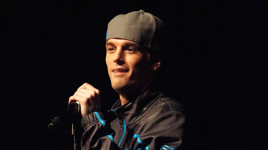 Sänger Aaron Carter