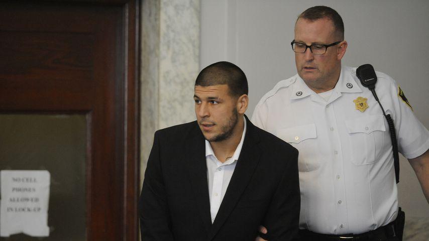 Aaron Hernandez vor Gericht im Juli 2013