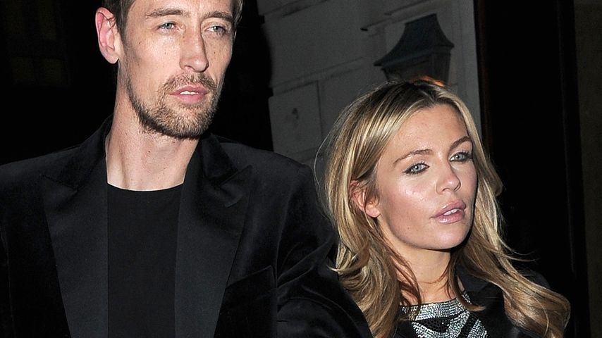 Peter Crouch und Abbey Clancy