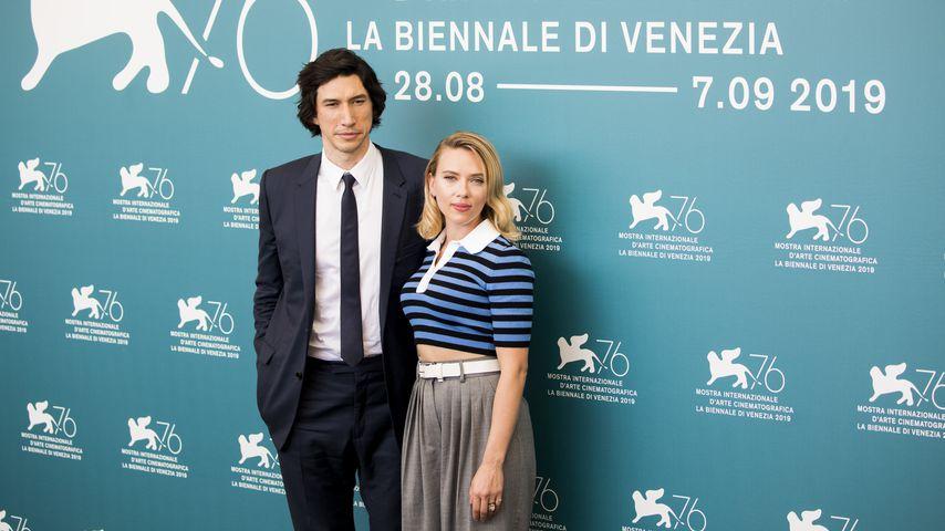 Adam Driver und Scarlett Johansson