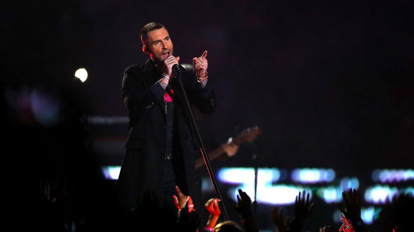 Adam Levine bei der Super Bowl-Halbzeitshow