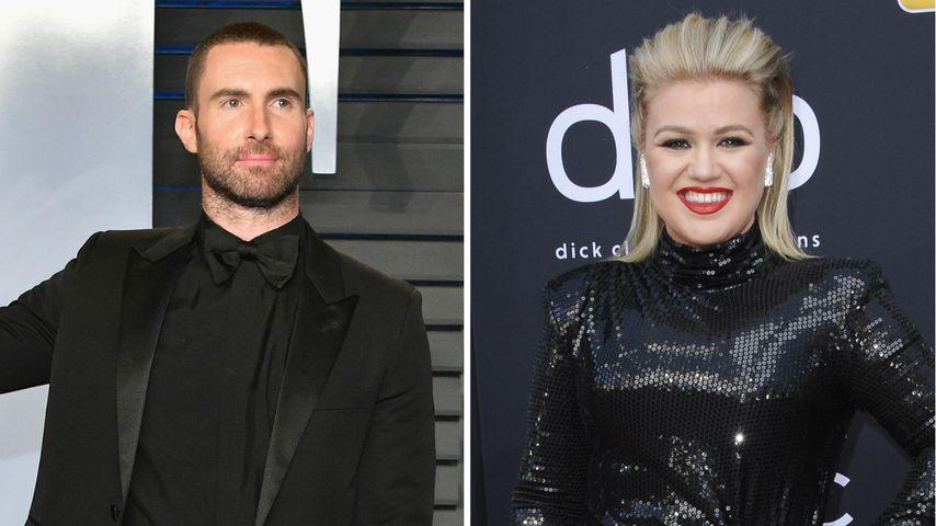 """Adam Levine verlässt """"The Voice"""": Schock für Kelly Clarkson!"""