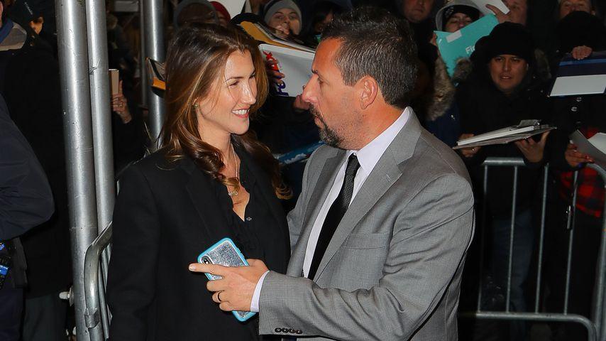 Adam Sandler mit seiner Frau Jackie