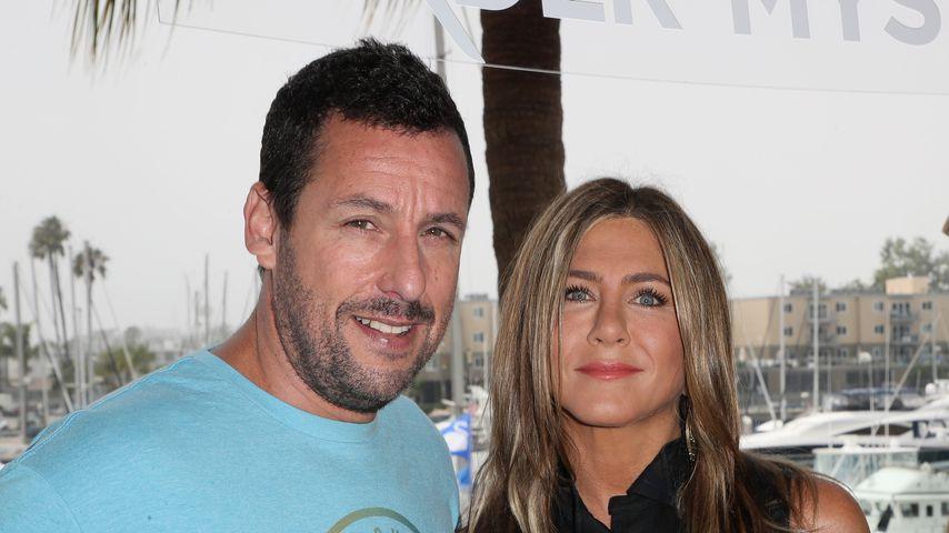 """Adam Sandler und Jennifer Aniston bei einem Fototermin zu """"Murder Mystery"""""""