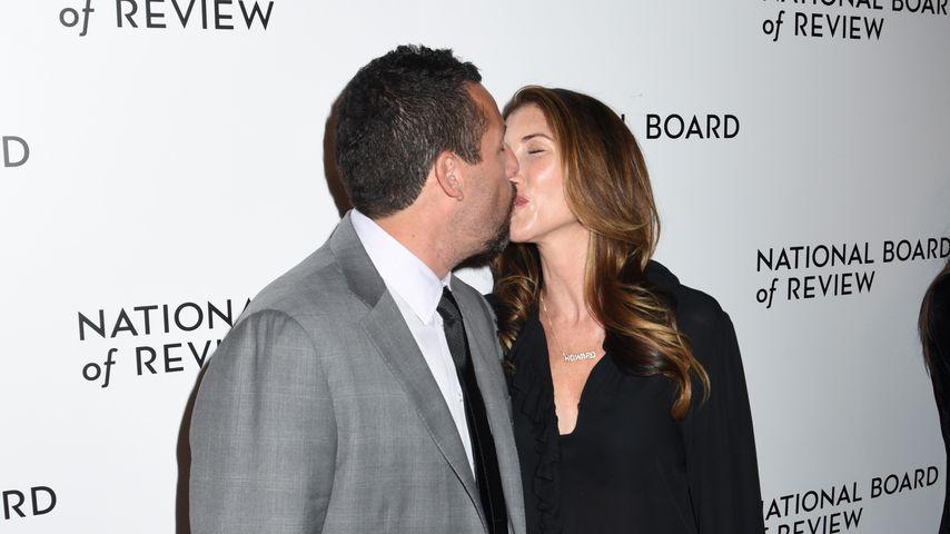 Adam und Jackie Sandler im Januar 2020