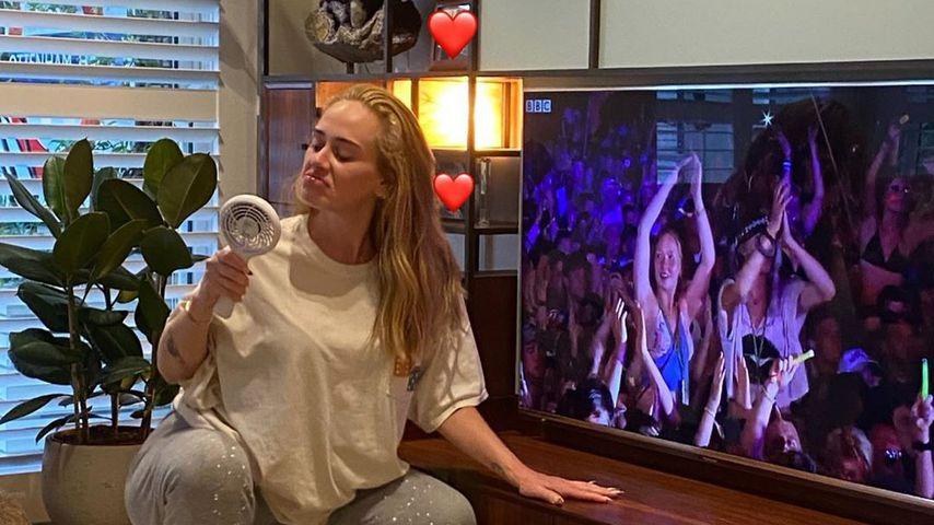 Nach Kilo-Verlust: Adele feiert jetzt ihr neues Lebensgefühl