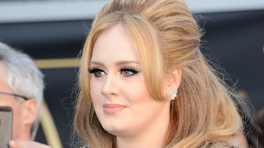 Adele Adkins im Februar 2013