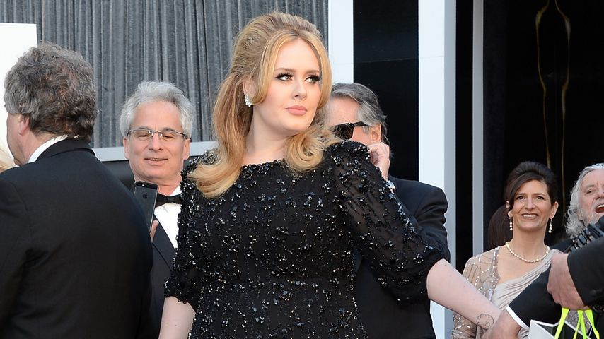 Adele bei den Oscars 2013 in Hollywood