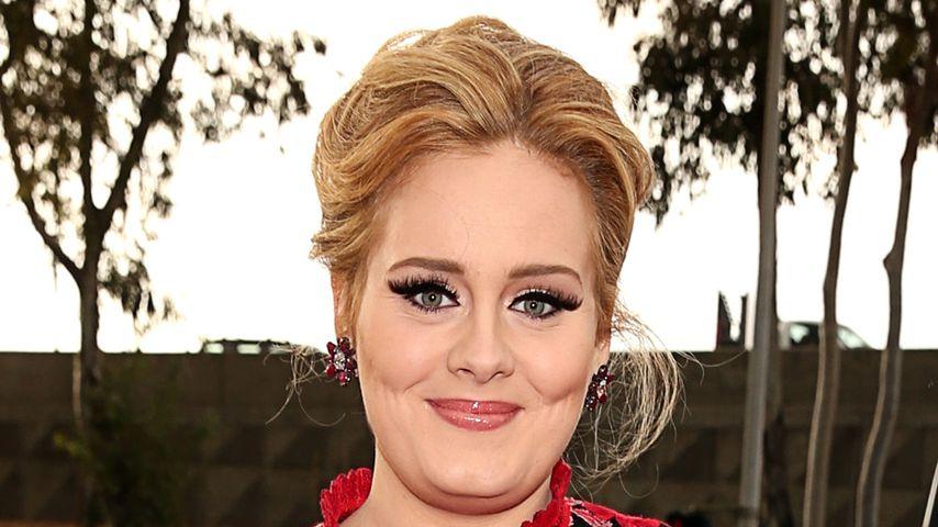 Adele im Februar 2013