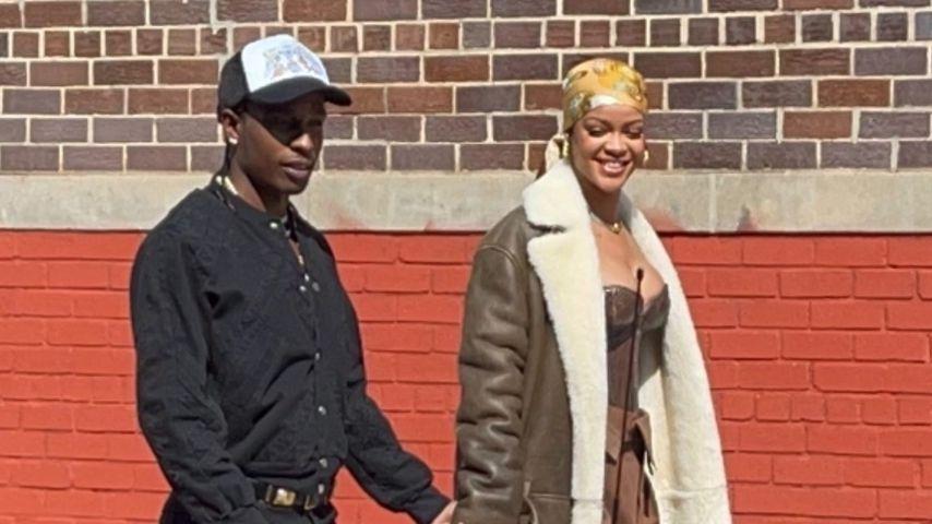 A$AP Rocky und Rihanna im Juli 2021