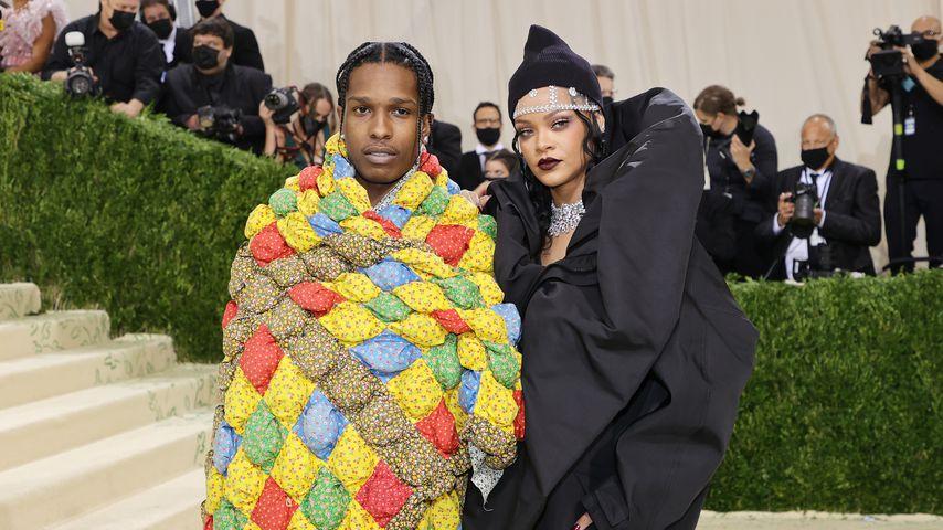 A$AP Rocky und Rihanna bei der Met Gala 2021