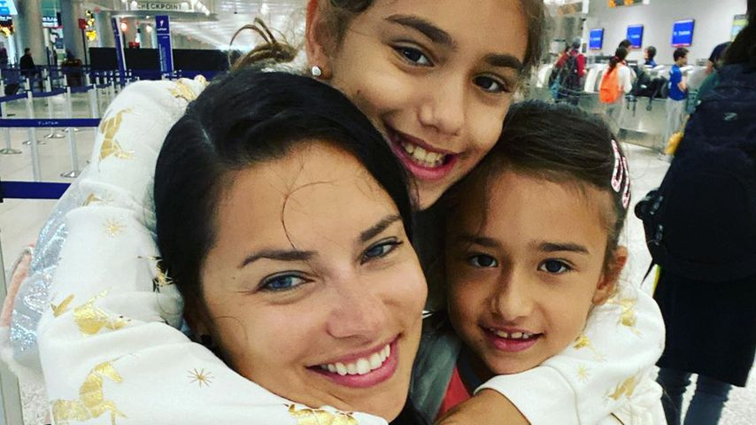 Durch Kinder: Beauty-Routine kommt bei Adriana Lima zu kurz