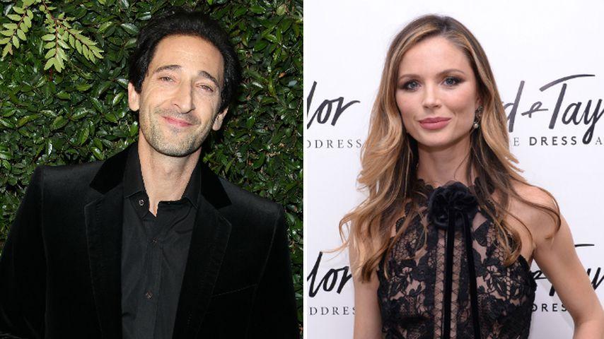 Datet Adrien Brody Weinsteins Ex-Frau Georgina Chapman?