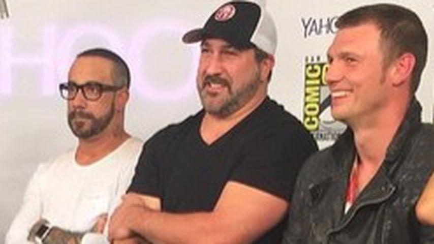 Auf Comic Con: Nick Carter bringt BSB & 'NSYNC zusammen