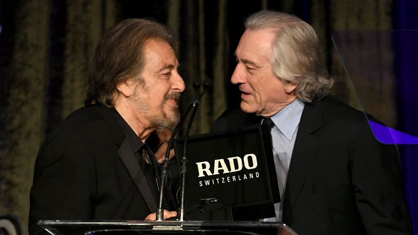 Al Pacino und Robert De Niro in Kalifornien