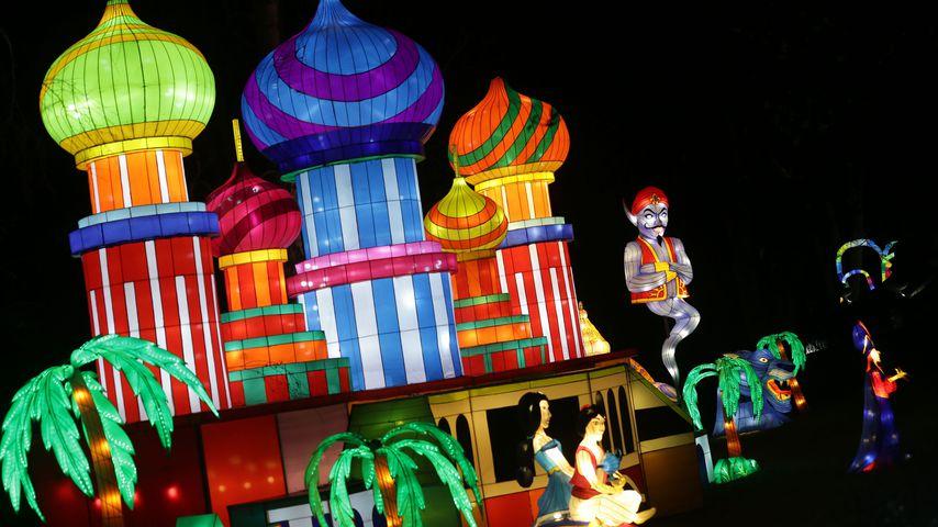 Aladdin - Magical Lantern Festival in London
