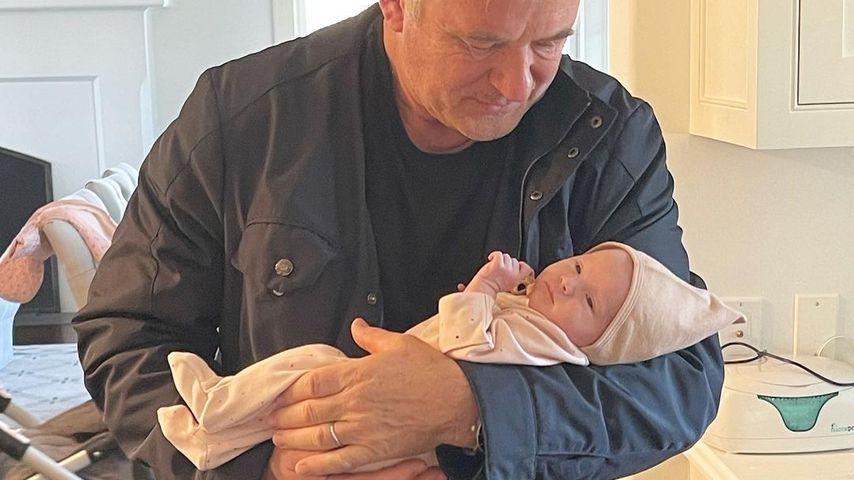 Erstes Vater-Tochter-Foto: Alec Baldwin kuschelt mit Lucia