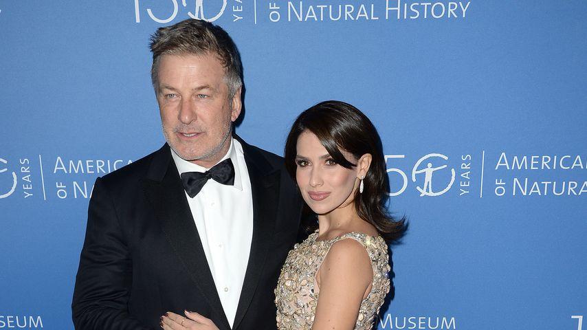 Alec und Hilaria Baldwin im November 2019