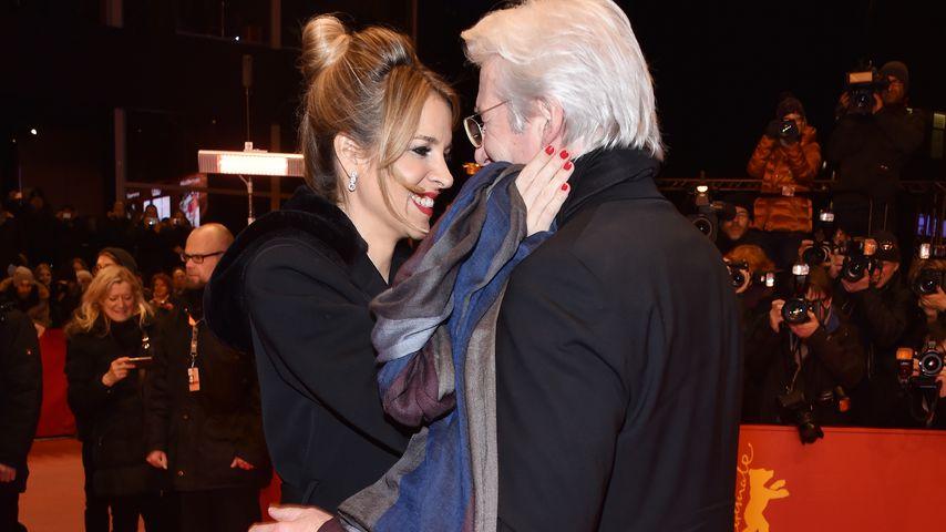 Alejandra Silva und Richard Gere bei der Berlinale 2017