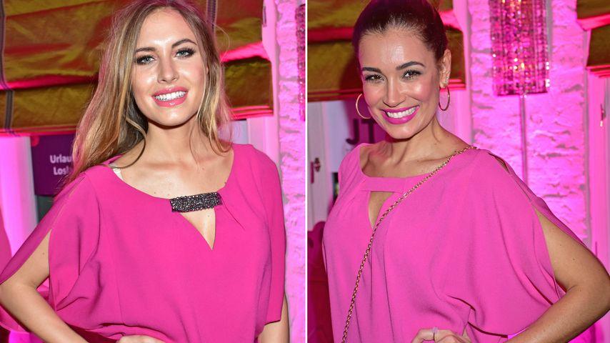 Outfit-Zwillinge: Alena Gerber & Jana Ina setzen auf Pink!