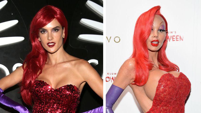 Megafail: Alessandra Ambrosios billige Heidi-Halloween-Kopie