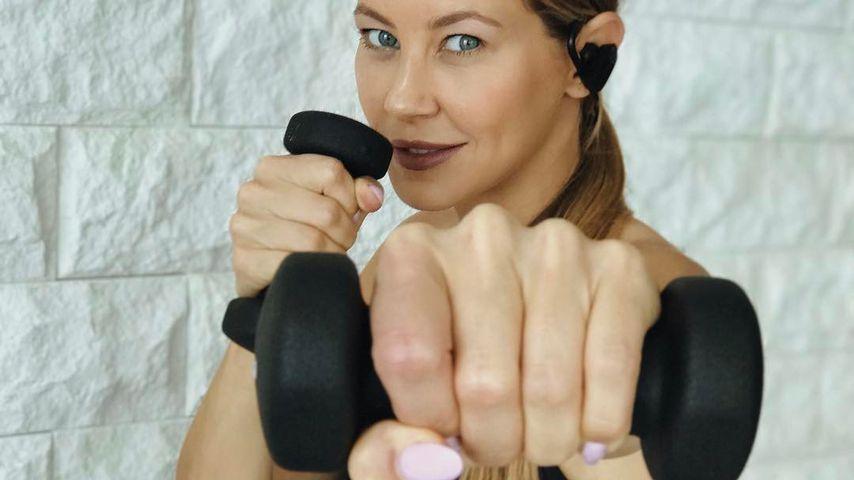 5-fach-Mama beim Sport: Alessandra zeigt ihr hartes Work-out