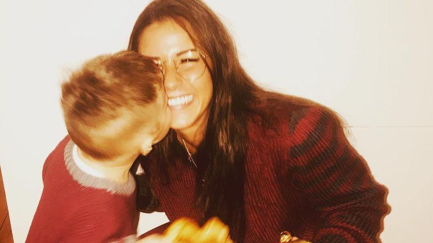 Alessio und Mama Sarah Lombardi