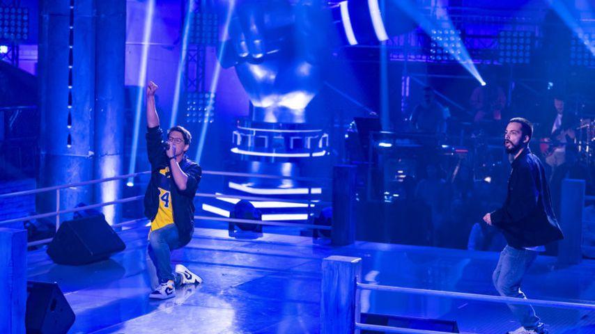 "Alex Hartung und Antonio Esposito im ""The Voice of Germany""-Battle"