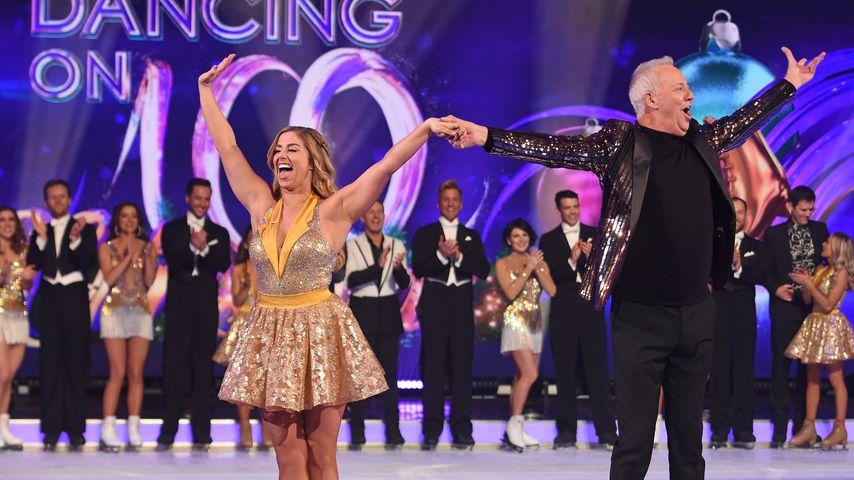 "Alex Murphy und Michael Barrymore bei ""Dancing on Ice"""
