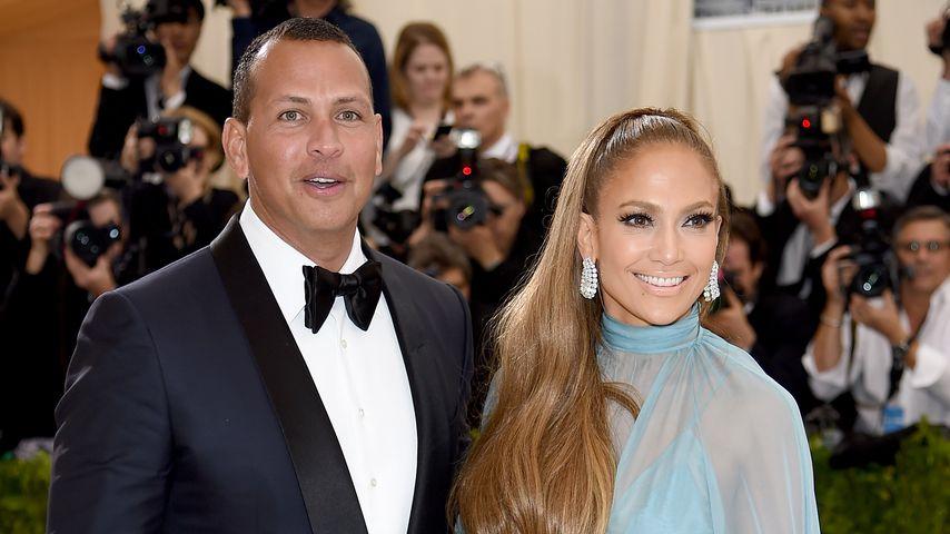 Wie ein Teenie: So süß schwärmt Jennifer Lopez von A-Rod!