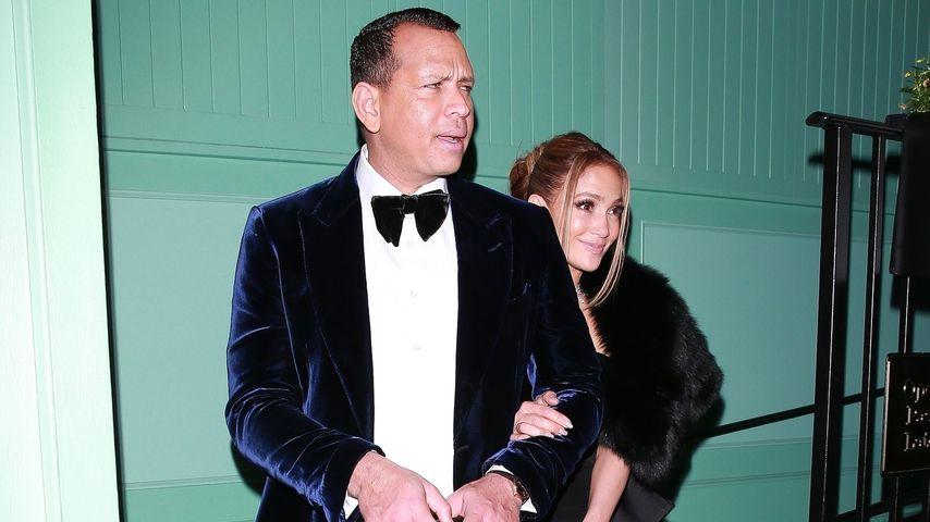 Alex Rodriguez und Jennifer Lopez im Januar 2020