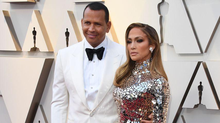 Alex Rodriguez und Jennifer Lopez bei den Oscars 2019