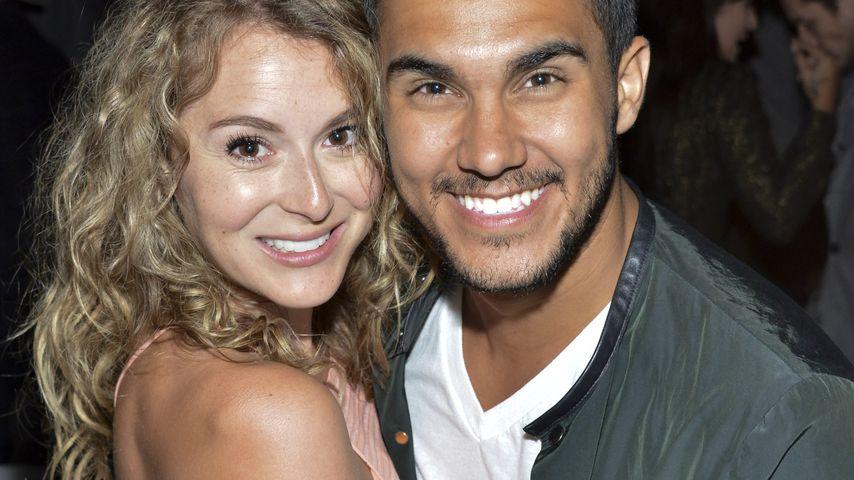 Alexa Vega und Carlos Pena auf einer Hollywood-Party