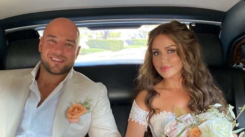 Alexander Beliaikin und Kim Gloss im August 2021 in Rom