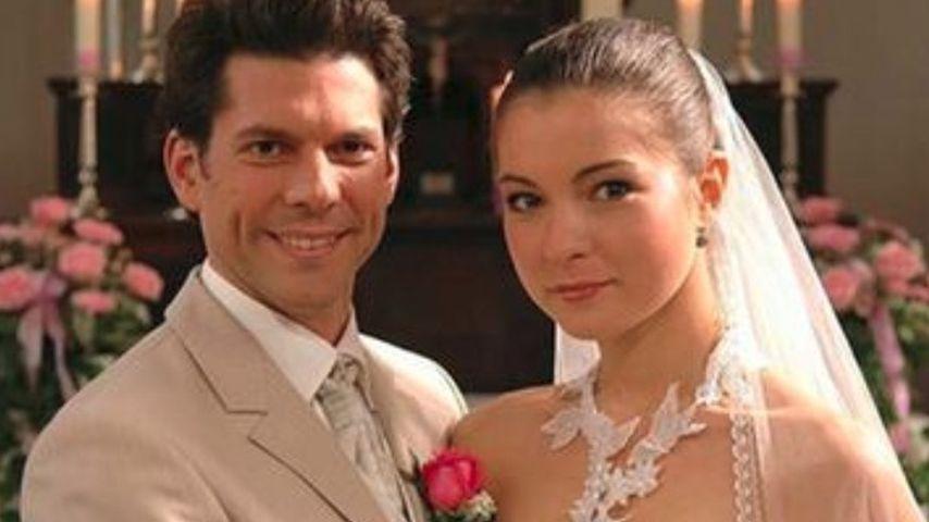 """Alexander (Gregory B. Waldis) & Laura (Henriette Richter-Röhl),""""Sturm der Liebe""""-Paar, Staffel 1"""