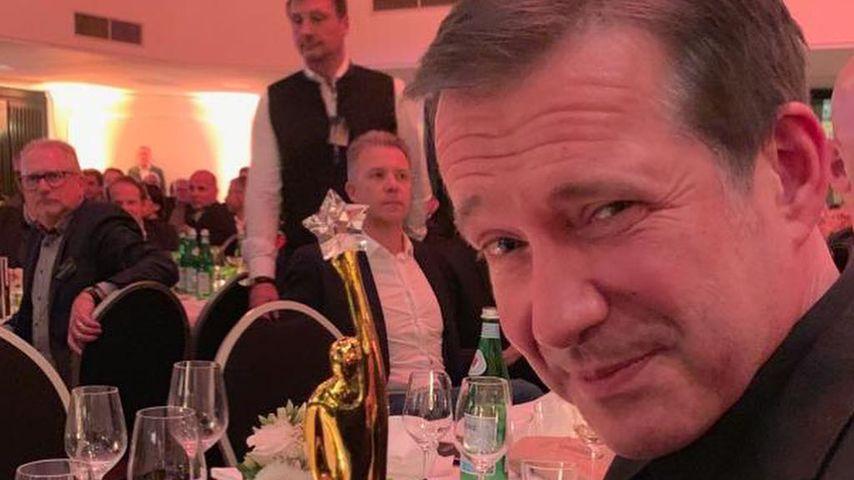 Alexander Herrmann mit dem Gastro-Stern-Award