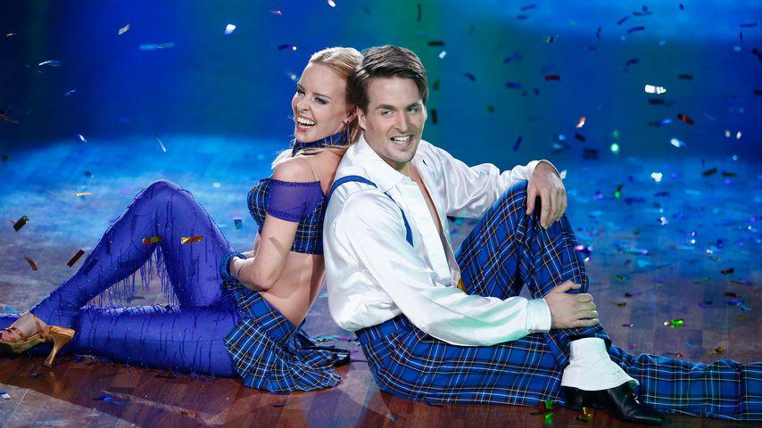 """Alexander Klaws und Isabel Edvardsson bei """"Let's Dance"""" im Jahr 2014"""