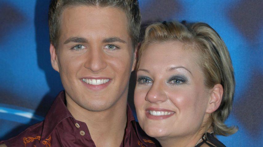 Alexander Klaws und Juliette Schoppmann im DSDS-Finale 2003