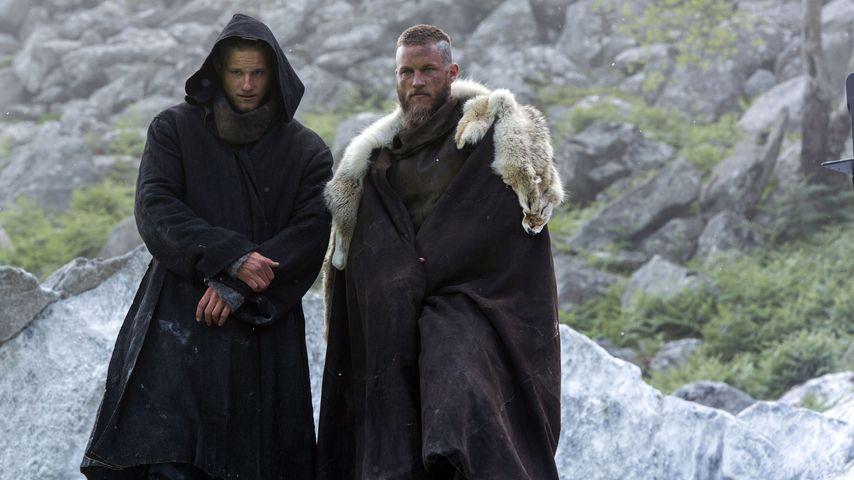 """Alexander Ludwig und Travis Fimmel in """"Vikings"""""""