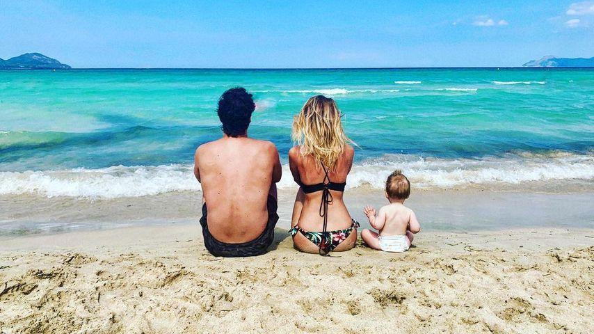 Alexander Milo mit seiner Familie