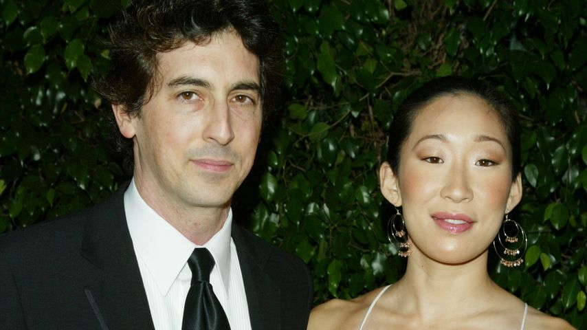 Alexander Payne und Sandra Oh im Februar 2005