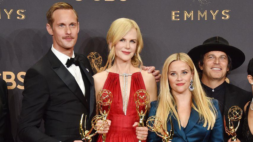 Alexander Skarsgard, Nicole Kidman und Reese Witherspoon bei den Emmy Awards