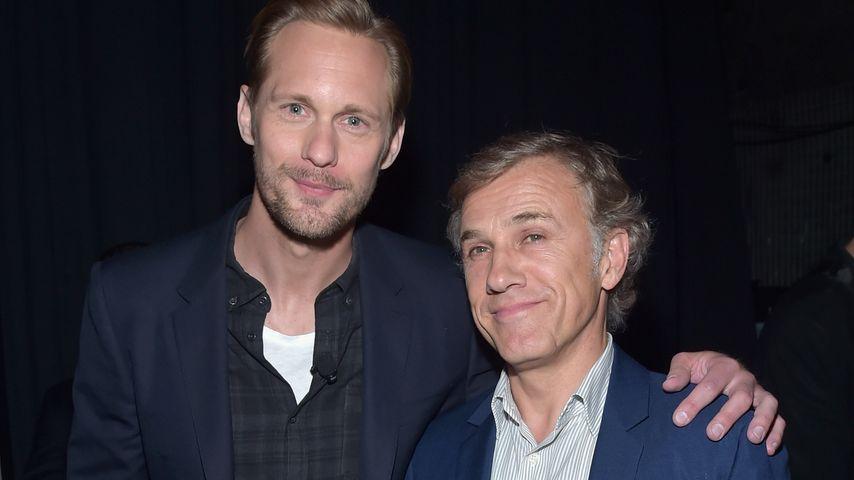 """Alexander Skarsgard und Christoph Waltz bei der """"CinemaCon 2016"""" in Las Vegas"""