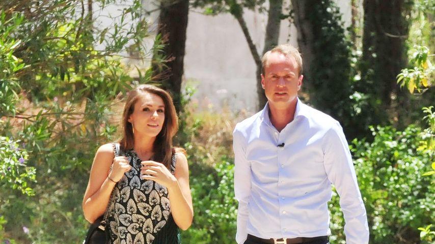 """Alexander und Angelina Posth am """"Sommerhaus der Stars"""""""
