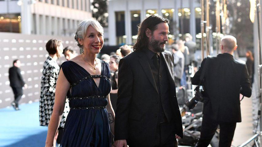 Alexandra Grant und Keanu Reeves