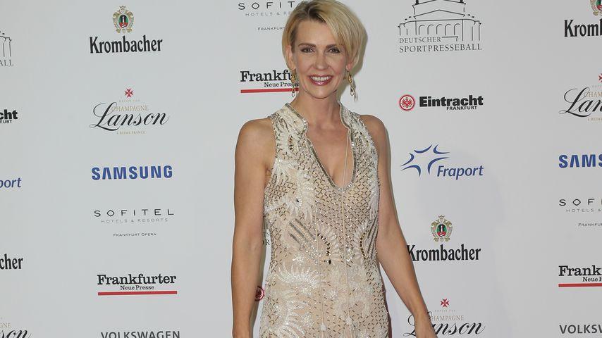 Alexandra Rietz beim Deutschen Sportpresseball in der Alten Oper Frankfurt