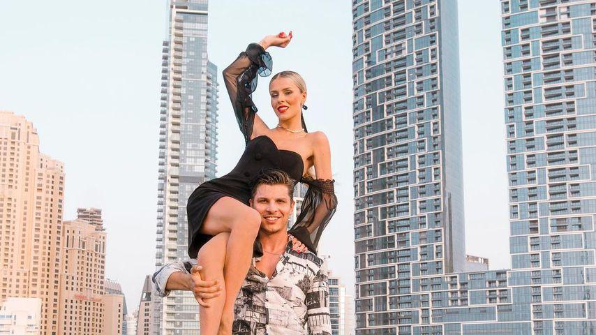 Alexandru Ionel und Patricija Belousova im August 2021