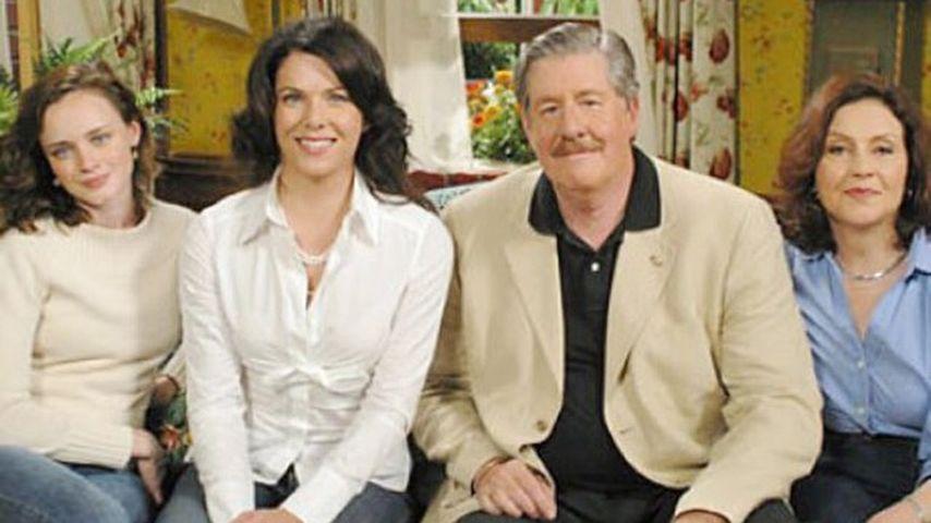 """Gilmore Girls""-Cast: Alexis Bledel, Lauren Graham, Edward Herrmann und Kelly Bishop (v.l.)"