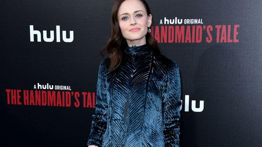 """Alexis Bledel bei der """"The Handmaid's Tale""""-Premiere von Staffel zwei in Hollywood im April 2018"""